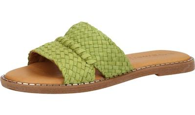 Tamaris Pantolette »Leder« kaufen