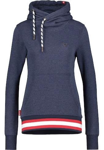Alife & Kickin Sweatshirt »SarahAK«, Kapuzen-Longsweater mit breitem sportivem... kaufen