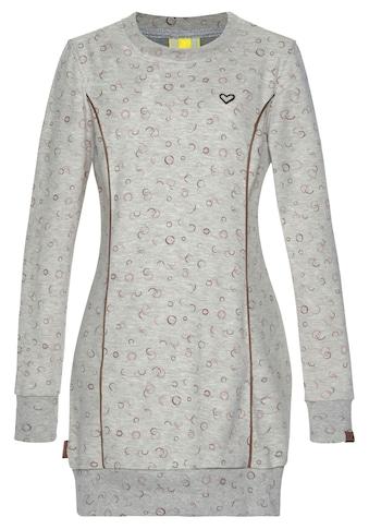 Alife & Kickin Sweatshirt »DarliAK«, Longsweater mit Rundhalsauschnitt und breiten Bünchen kaufen