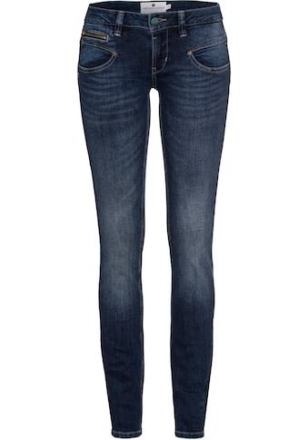 Freeman T. Porter Slim-fit-Jeans »Alexa«, mit Zierreißverschlüssen kaufen