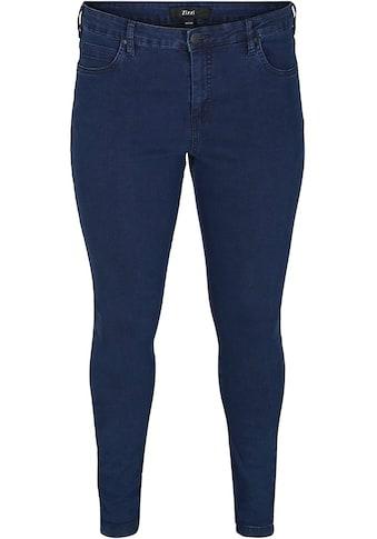 Zizzi Slim-fit-Jeans »Amy«, in Baumwoll-Stretch kaufen