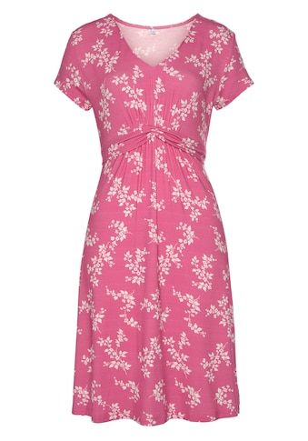 Vivance Jerseykleid, mit Blumendruck kaufen