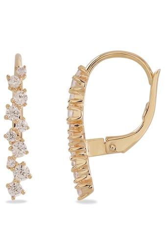 VILMAS Paar Ohrhänger »Sparkle Row Large, 4028146649521«, mit Zirkonia kaufen