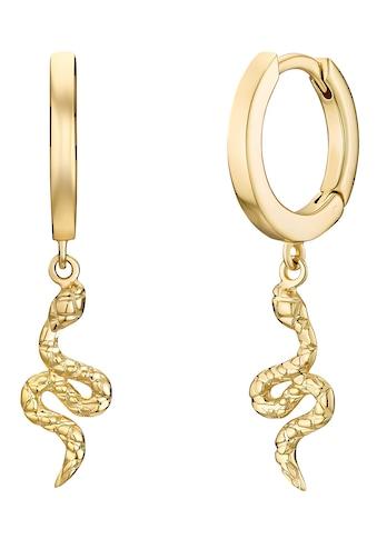 Noelani Paar Creolen »Schlangen-Optik, 2031583, 2031584« kaufen