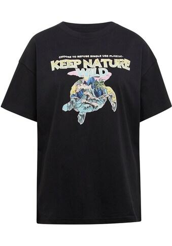 Mavi T-Shirt, mit großem Frontdruck kaufen