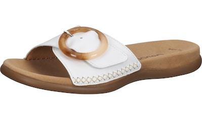 Gabor Pantolette »Nappaleder« kaufen