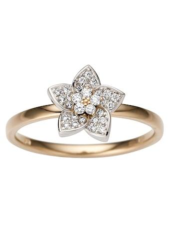 Firetti Goldring »Blume, Glanz, massiv« kaufen