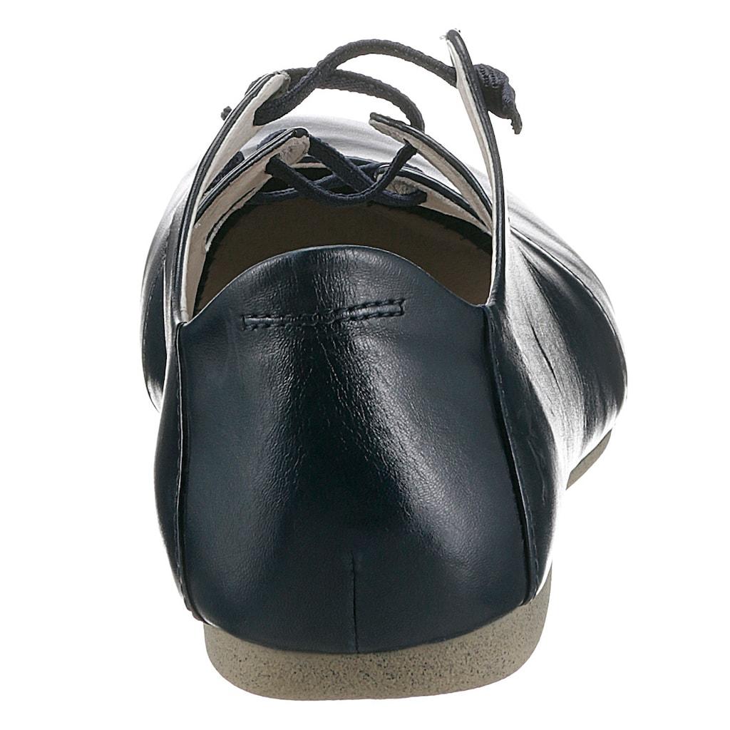 Josef Seibel Riemchenballerina »Fiona«, mit raffinierten Gummizug