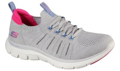 Skechers Slip-On Sneaker »FLEX APPEAL 4.0«, mit sockenähnlichen Schaft zum Schlupfen kaufen