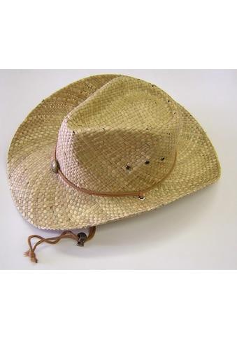 Chaplino Strohhut, mit längenregulierbarem Kinnband kaufen