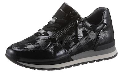 Gabor Keilsneaker »YORK«, mit Karo-Muster kaufen