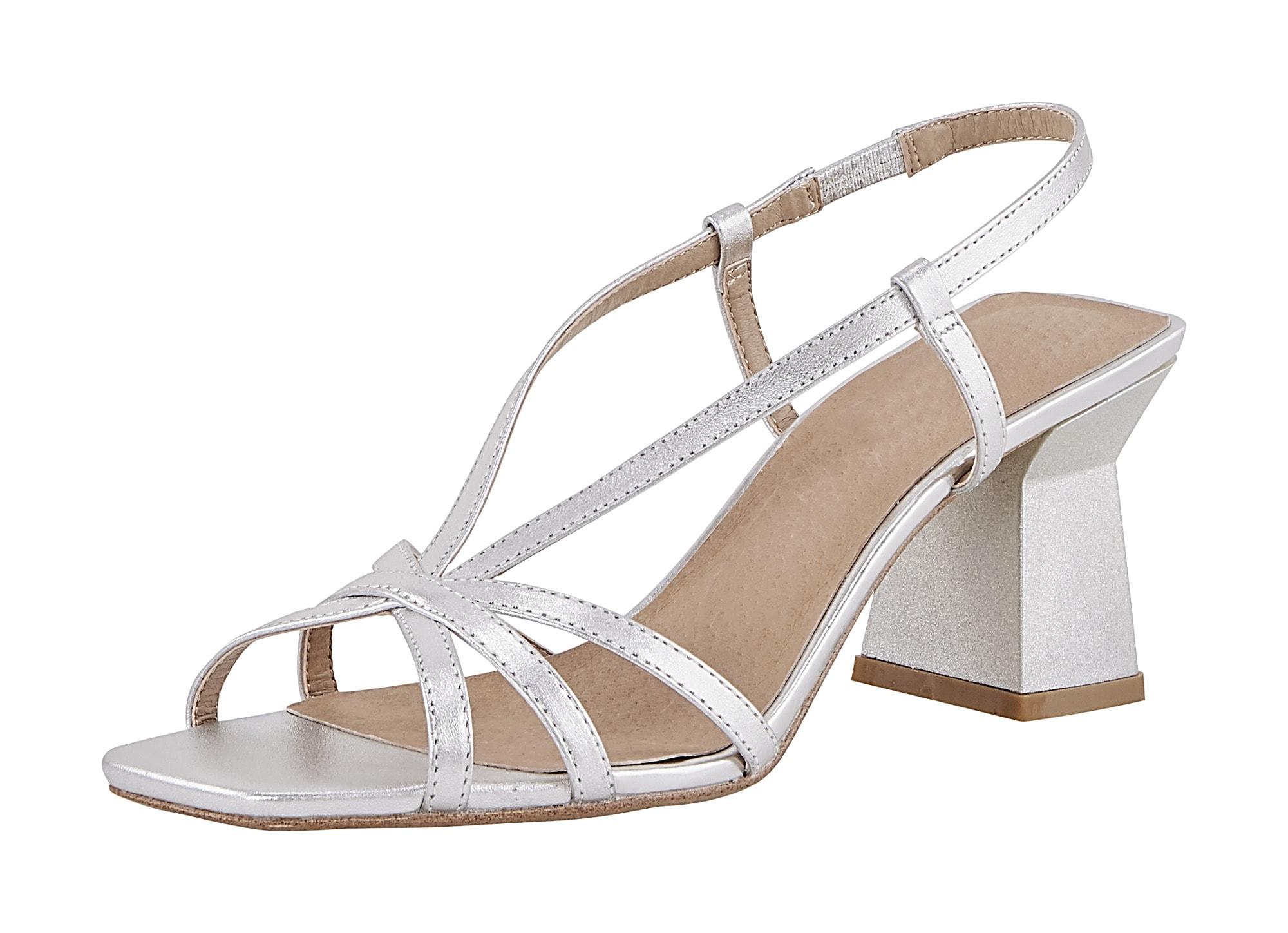 heine - Sandalette mit dekorativem Absatz