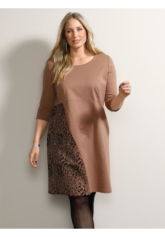 MIAMODA Sweatkleid, mit Animalprint kaufen