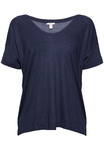 edc by Esprit T-Shirt, in trendiger, melierter Optik kaufen