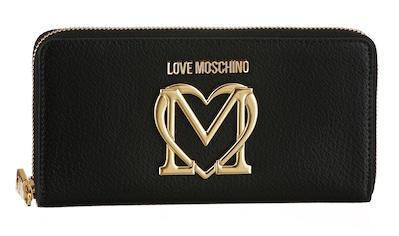 LOVE MOSCHINO Geldbörse, mit vergoldetem Logo auf der Vorderseite kaufen