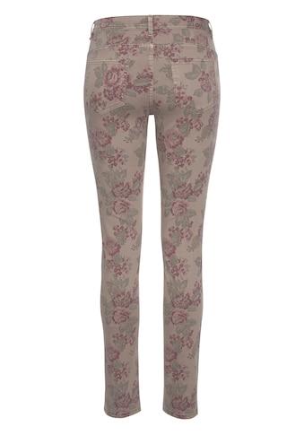 Aniston CASUAL Stretch-Hose, mit Rosen bedruckt kaufen