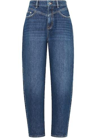 Mavi Mom-Jeans »LOLA-MA«, mit stylischer Passe vorne am Bund - NEUE KOLLEKTION kaufen