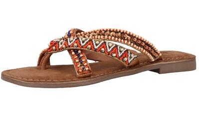 Lazamani Zehentrenner »Textil« kaufen