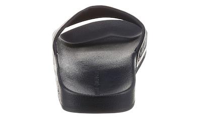 Tommy Hilfiger Badepantolette »RWB RAISED POOL SLIDE«, mit breiter Bandage kaufen