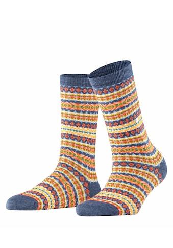 Burlington Socken Country Fair Isle (1 Paar) kaufen