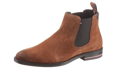 TOMMY HILFIGER Chelseaboots »SIGNATURE HILFIGER SUEDE CHELSEA« kaufen