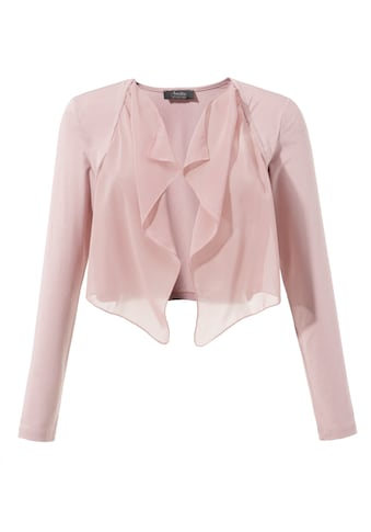 Aniston SELECTED Bolero, mit leicht transparentem Vorderteil kaufen