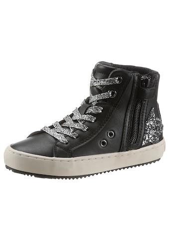 Geox Kids Sneaker »J Kalispera Girl«, mit Reißverschluss kaufen