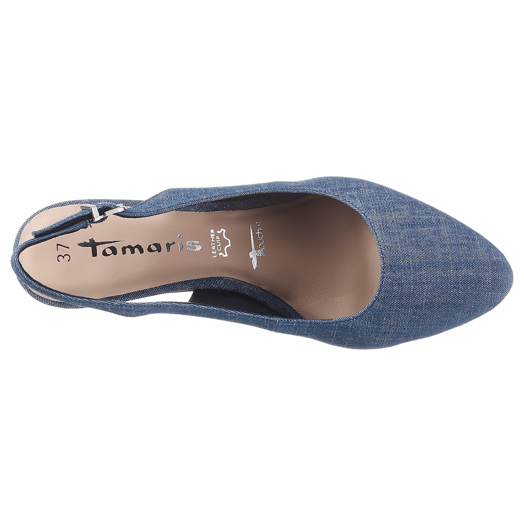 Tamaris Slingpumps »TAIMIE«, mit Touch It-Ausstattung