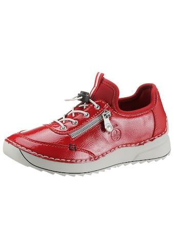 Rieker Slip-On Sneaker, in glänzender Optik kaufen