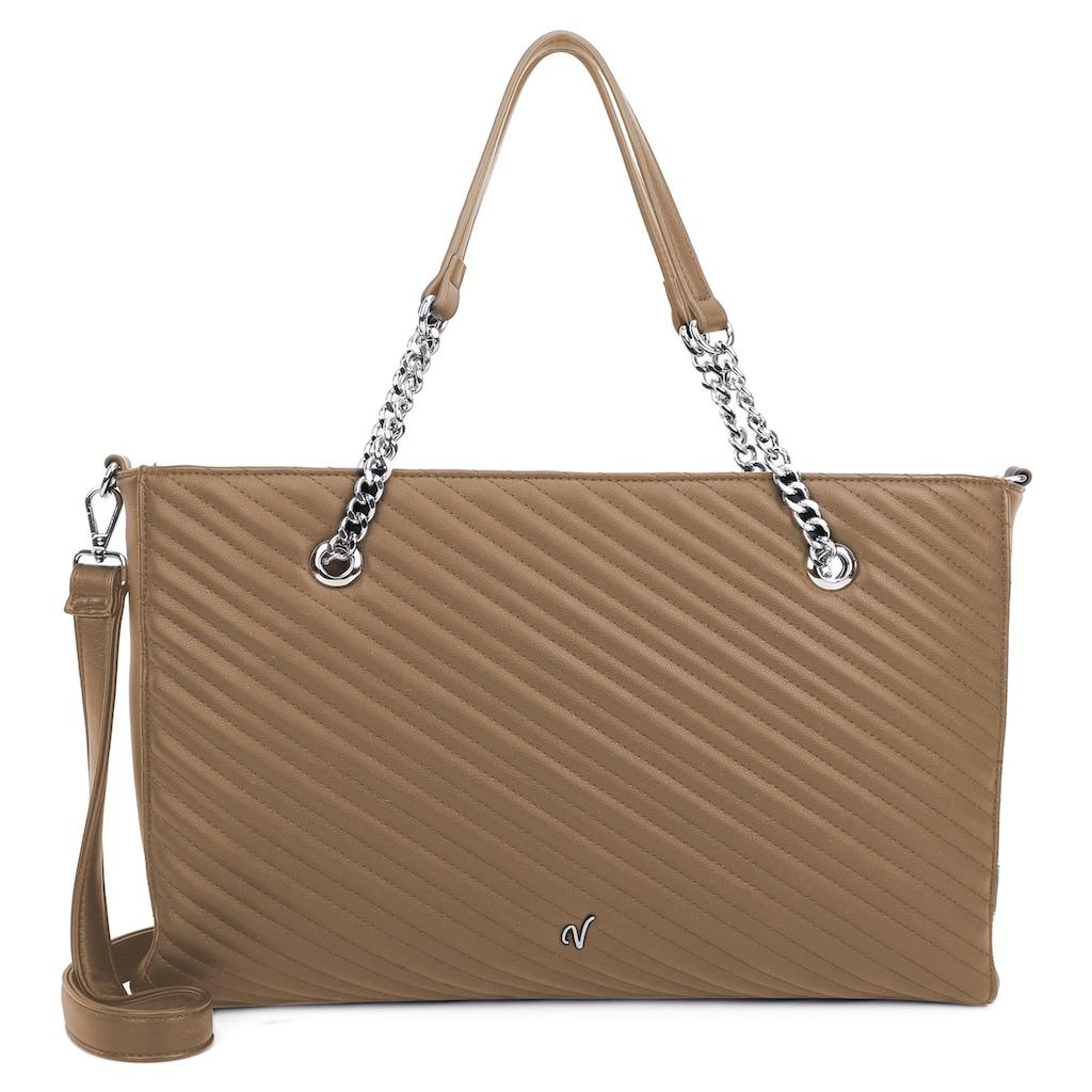 Vleder BAG Shopper »Cecelia«, mit glatter Rückseite, bekannt aus der TV Serie GZSZ