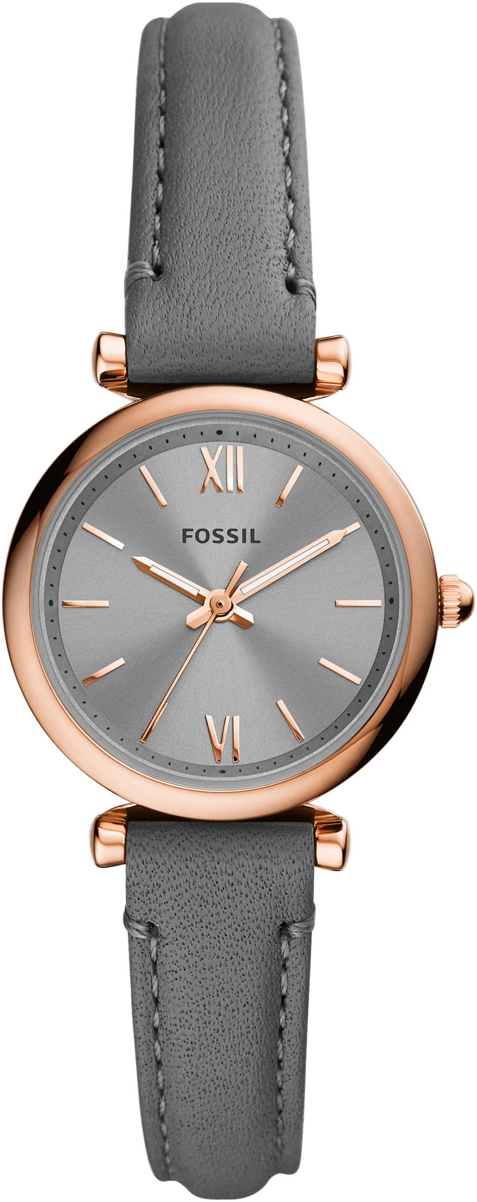 Fossil Quarzuhr CARLIE MINI, ES5068, (1 tlg.) günstig online kaufen