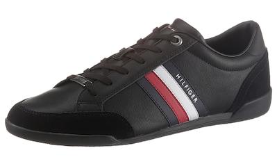 Tommy Hilfiger Sneaker »CORPORATE MATERIAL MIX CUPSOLE«, mit Kontrastbesatz an der Ferse kaufen