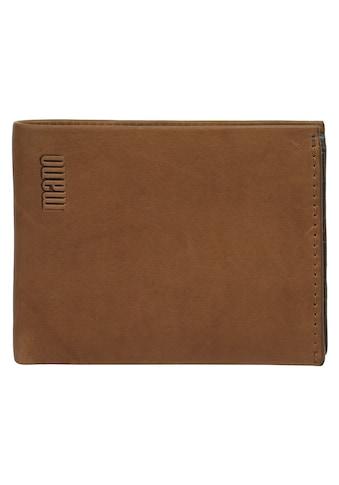 MANO Geldbörse »LIGATUS«, Kreditkartenfächer kaufen
