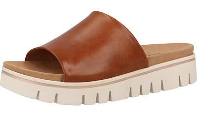 Gabor Pantolette »Leder« kaufen