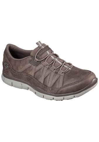 Skechers Slip-On Sneaker »GRATIS FINE TASTE«, in veganer Verarbeitung kaufen