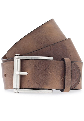 MUSTANG Ledergürtel, mit Logo-Prägung auf der Spitze kaufen