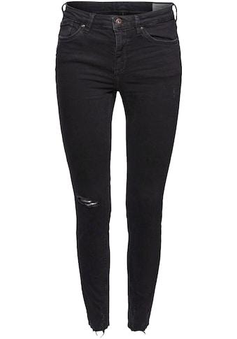 edc by Esprit Stretch-Jeans, mit coolem Used-Detail kaufen