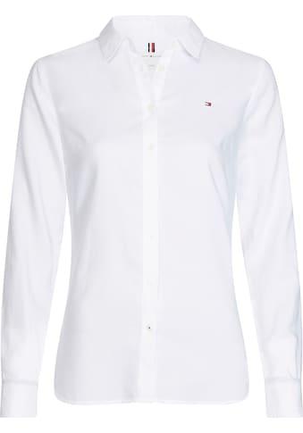 Tommy Hilfiger Hemdbluse »HERITAGE REGULAR FIT SHIRT«, in hochwertiger Oxford Qualität... kaufen