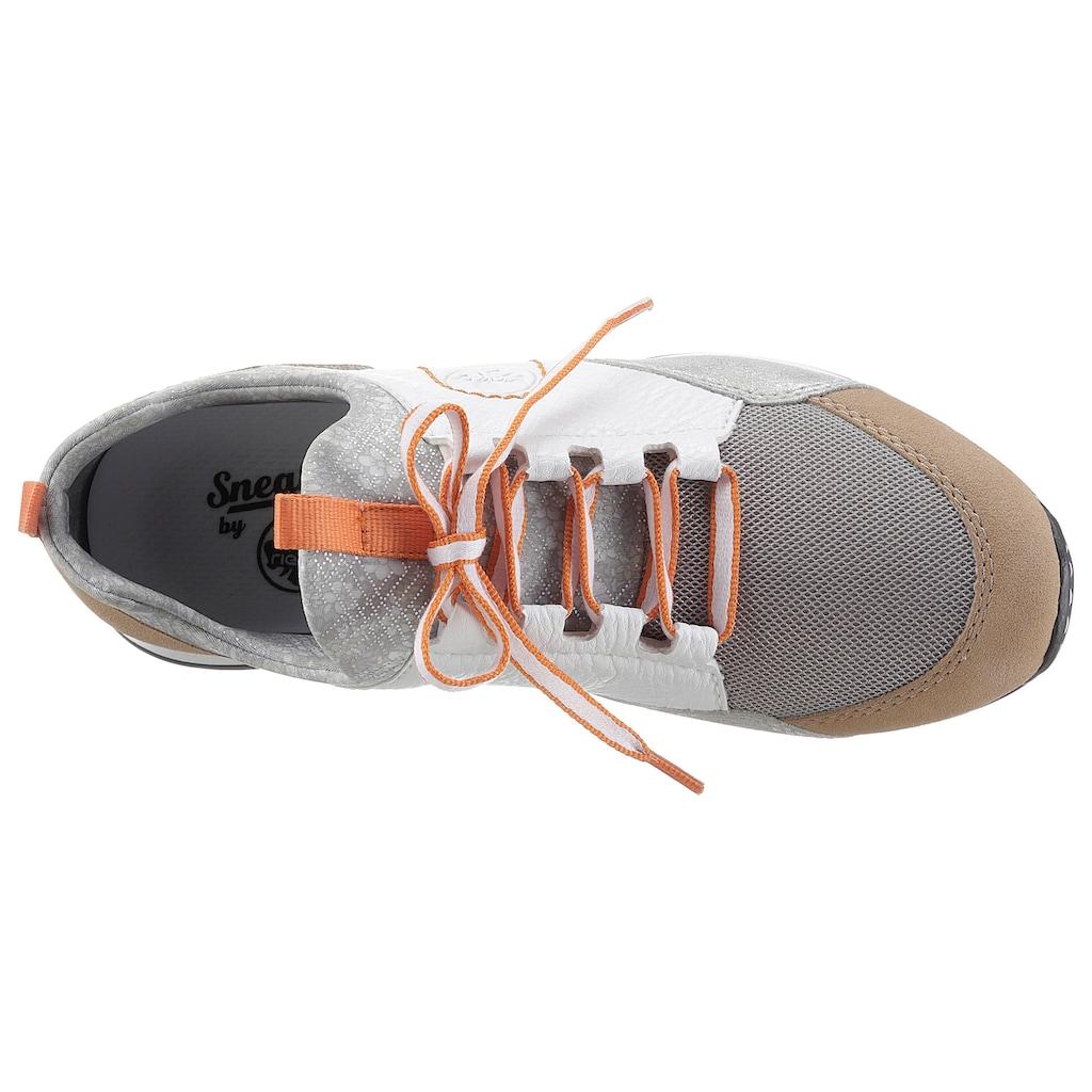 Rieker Slip-On Sneaker, in mehrfarbiger Optik