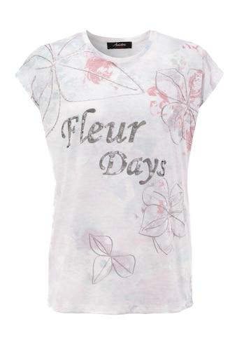 """Aniston CASUAL T-Shirt, für """"blumige"""" Tage kaufen"""
