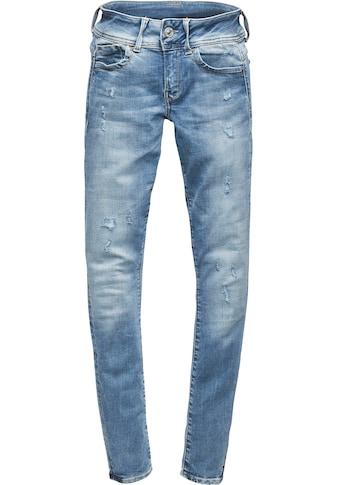G-Star RAW Skinny-fit-Jeans »Lynn D-Mid Waist Super Skinny Jeans«, 5-Pocket-Design mit... kaufen