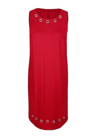 MIAMODA Blazer und Kleid Kleid mit modischen Ösen kaufen