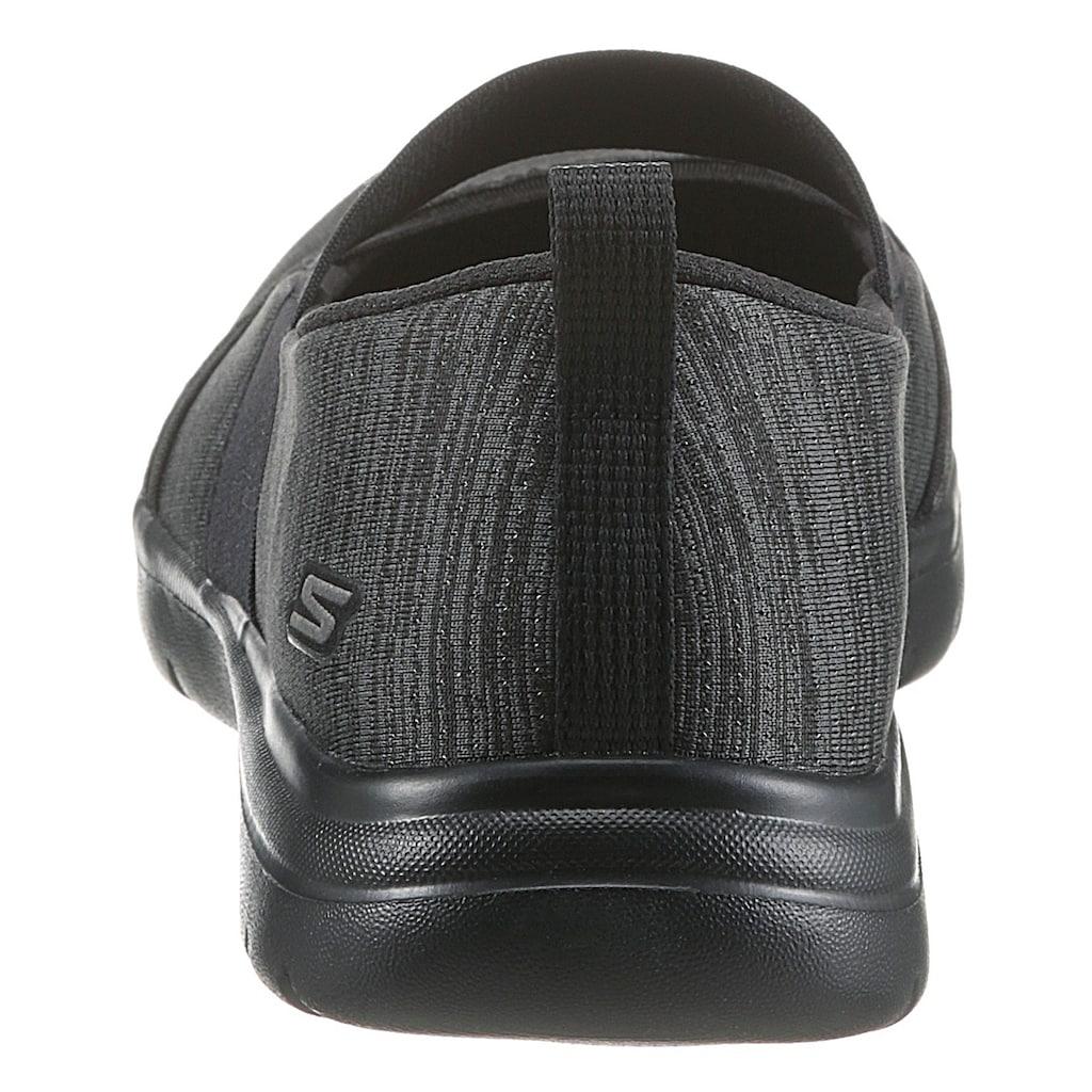 Skechers Riemchenballerina »ON-THE-GO FLEX«, mit elastischem Gummiband