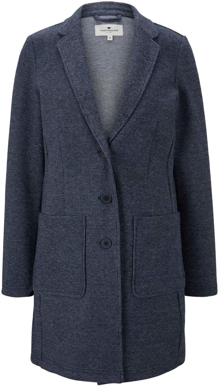 tom tailor -  Kurzmantel, mit aufgesetzten Taschen