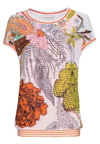 bianca Chiffonbluse »ALEA«, im angesagten Paisley Print und integriertem Top kaufen