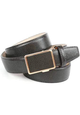 Anthoni Crown Ledergürtel, in Warandesign, zeitloses Design kaufen