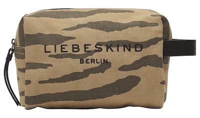 Liebeskind Berlin Kosmetiktasche »Juniper Tiger Cosmetic Pouch S«, mit Applikationen... kaufen