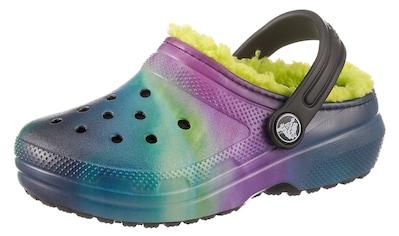 Crocs Clog »Classic Lined«, mit buntem Muster kaufen