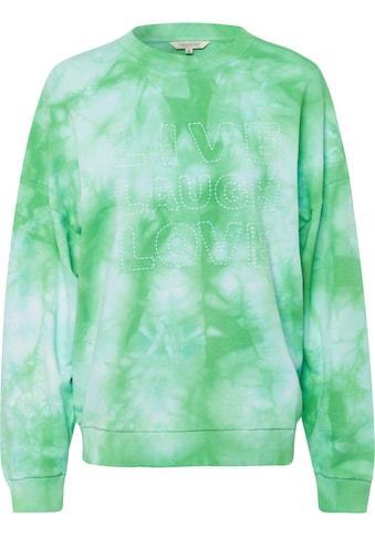 Herrlicher Sweatshirt »CALIXTA«, mit Batik-Muster kaufen