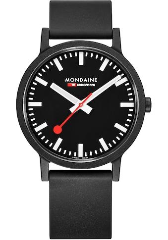 MONDAINE Schweizer Uhr »essence, MS1.41120.RB« kaufen